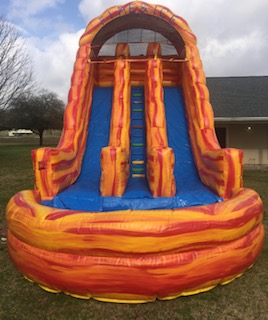 21FT FIRE & ICE SLIDE