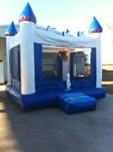 Blue & White Castle Sale